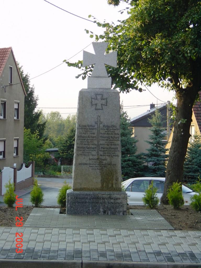 Denkmal in Seifertsmühle